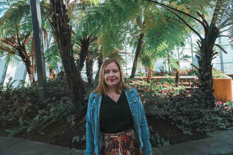 Kat at Sky Garden