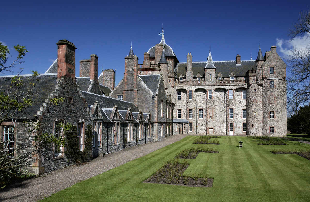 Thirlestane Castle in Lauder