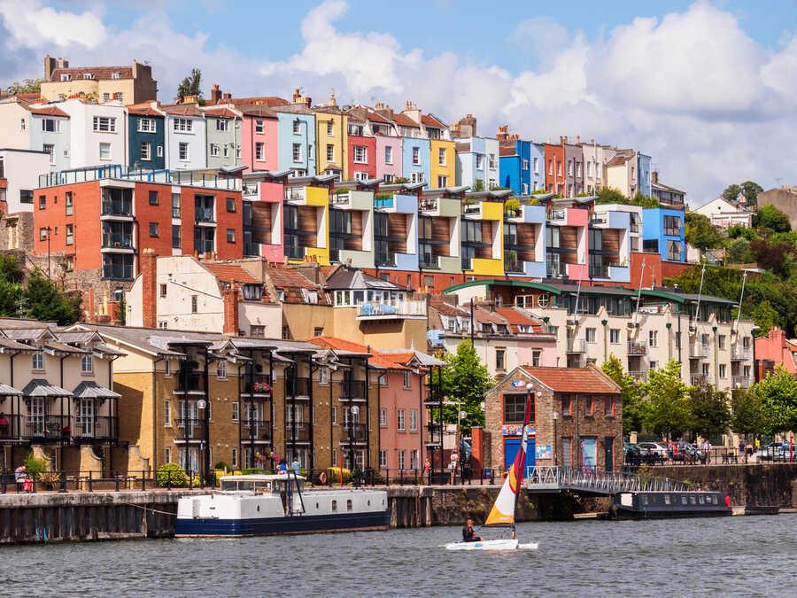 Harbour Waterfront in Bristol