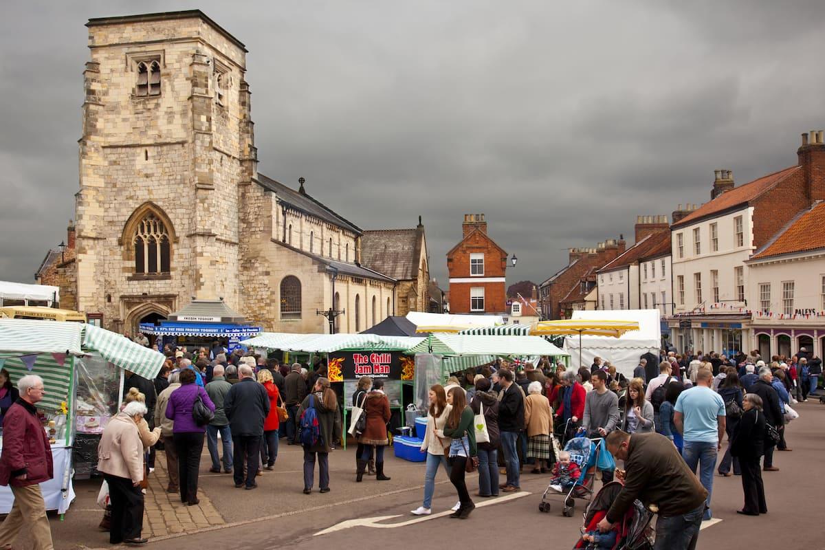 Market Day - Malton - Yorkshire - England