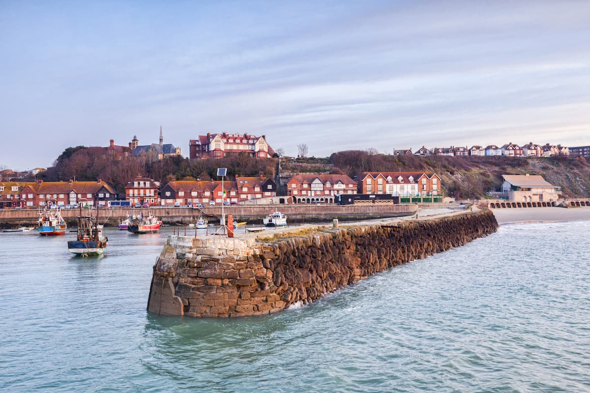 Folkestone Harbour and Jetty