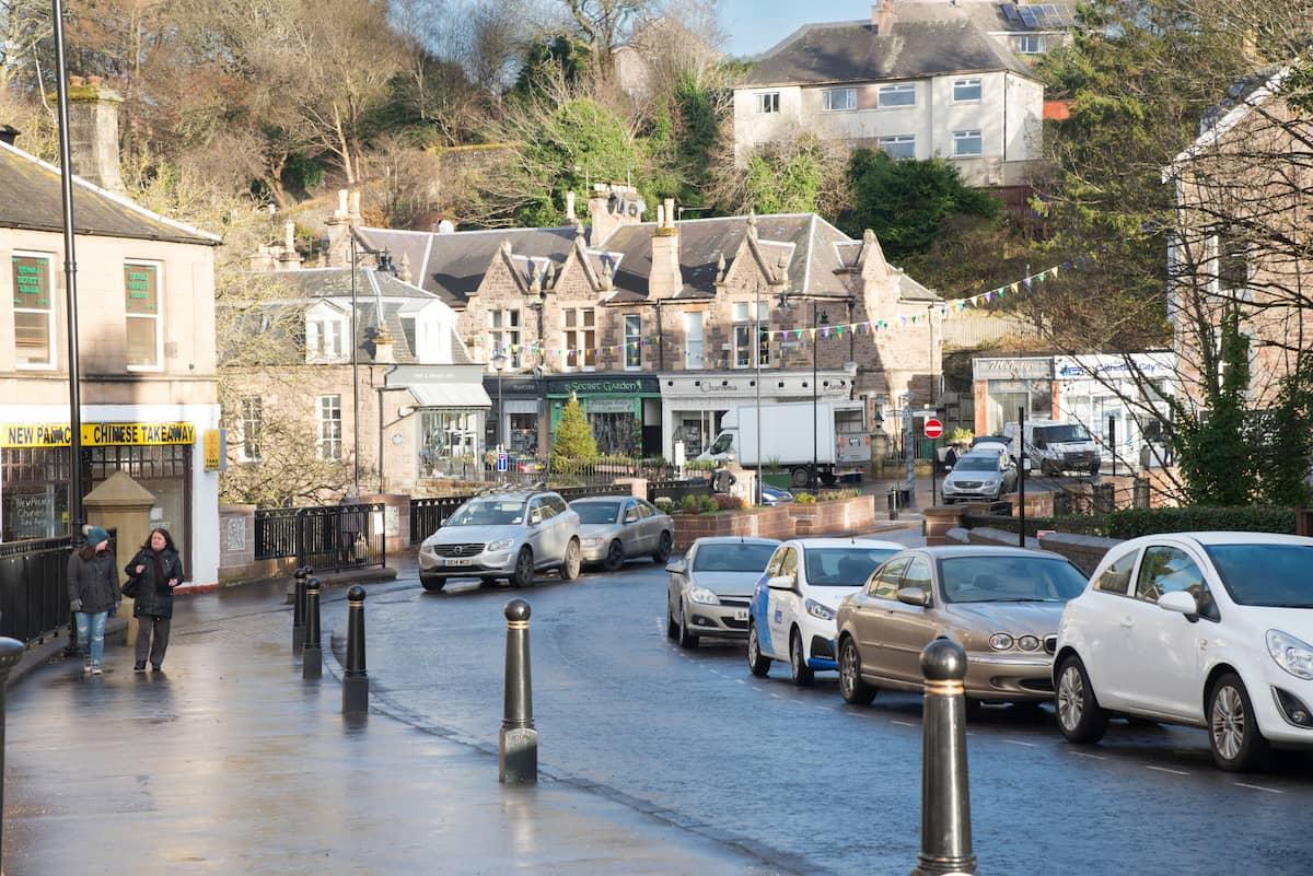 Dunblane Town Centre Scotland