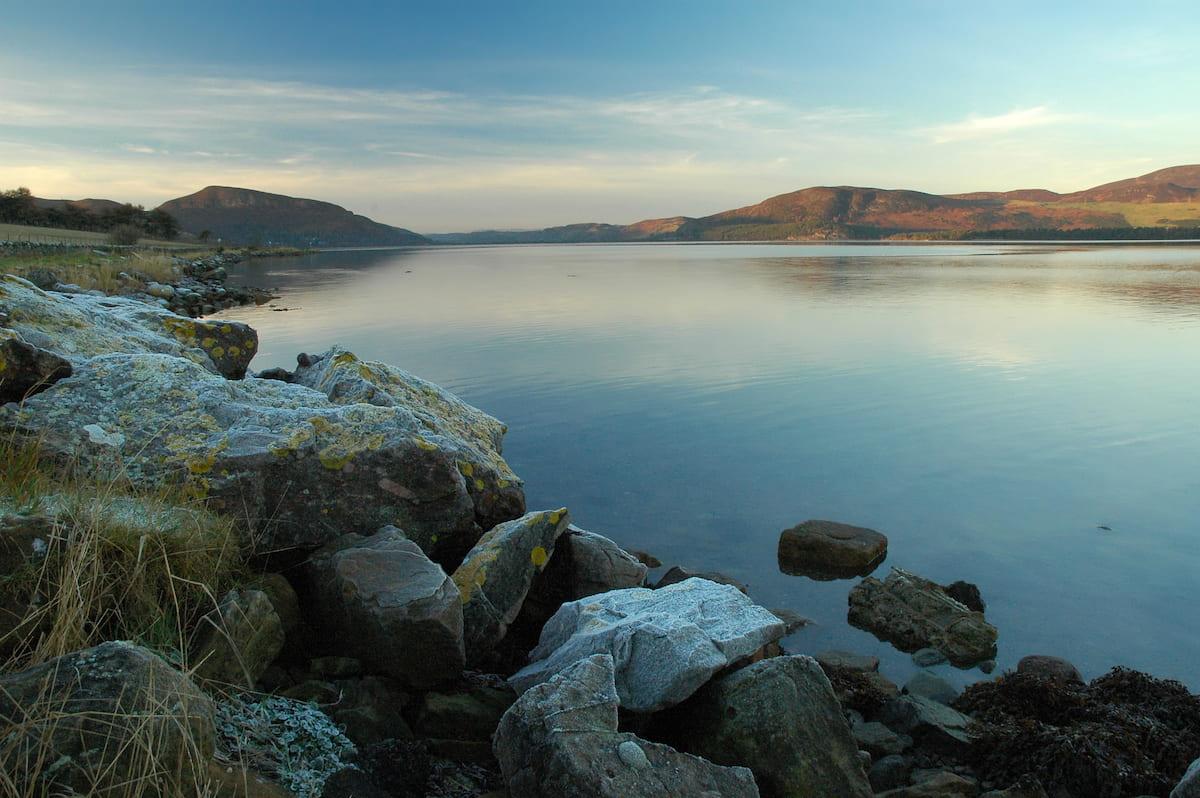 Winter Dusk, Loch Fleet