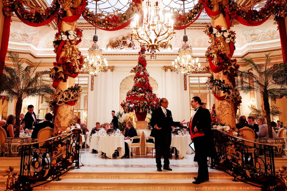 Christmas Decoration of The Ritz London