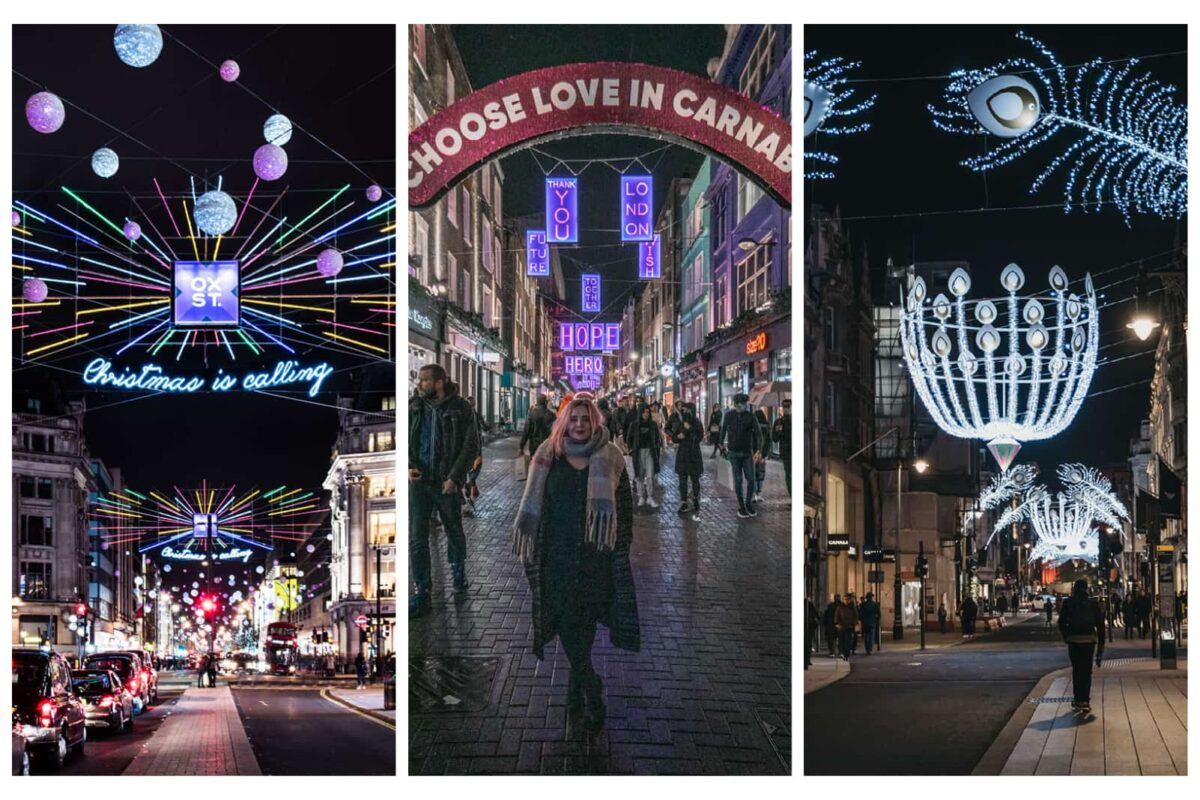 Best Christmas Lights in London and where to find them.