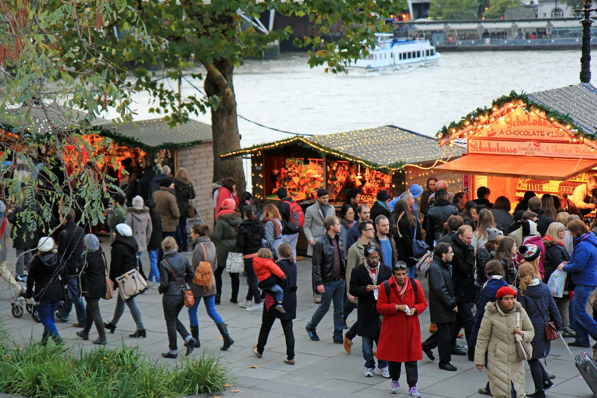 Christmas Markets on the South Bank