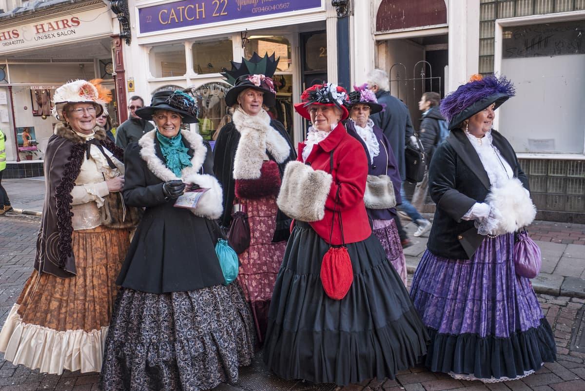 annual Rochester Dickensian Christmas Festival Parade