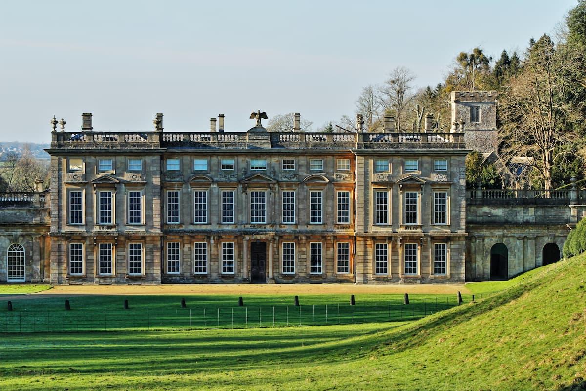 17th century castle in Dyrham Park, England