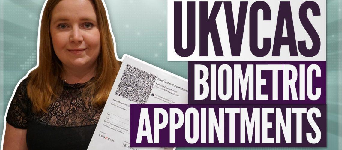 Biometrics Appointment for UK Visa